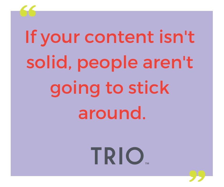 Trio Solutions Content Marketing